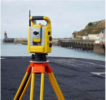 Estacao total trimble s3 - servo motorizada