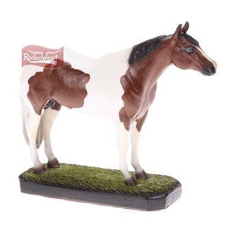 Escultura cavalo paint horse - art west