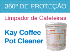 Ecolkay coffee pot cleaner limpador de cafeteiras