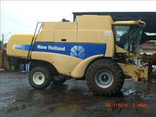 Colheitadeira - new holland - cs 660