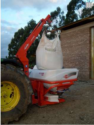 Fertilizadora kuhn accura 1600 2014