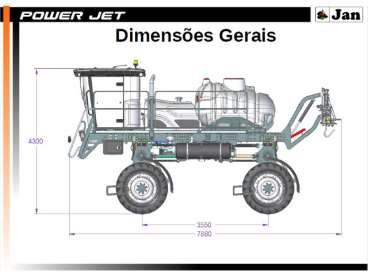 Power jet 2.650, versao 4x4, barra traseira