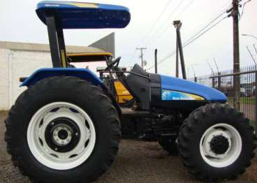 Trator ford/new holland tl 95 4x4 ano 2008