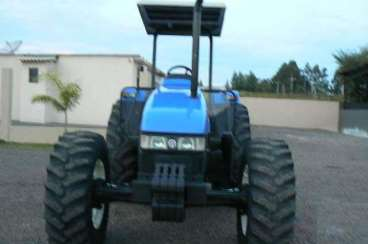 Trator new holland tl 100 4x4 ano 2002 trator new