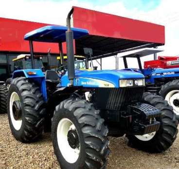 Trator new holland 7630 4x4 ano 2011