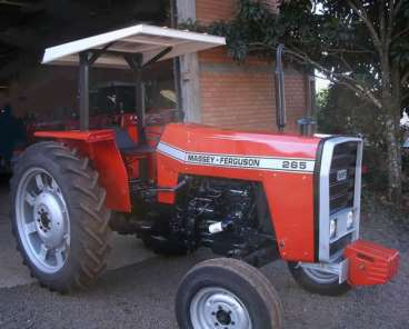 Trator agricola mf-265 1978