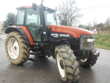 Tractor new holland m 115