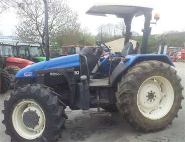 Tractor new holland tl80