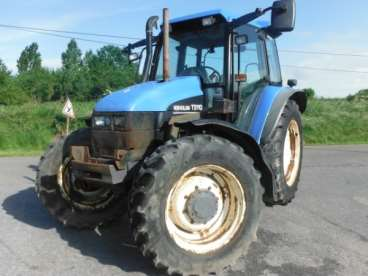 Tractor new holland ts 110