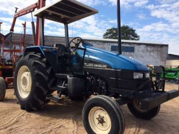 Trator new holland tl65 4x2 1998