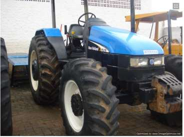 Trator new holland tl 75 ano 2002