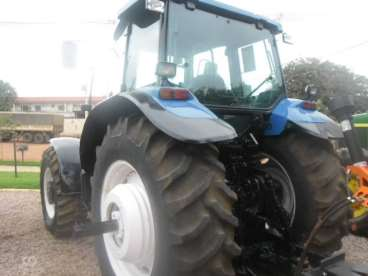 Trator new holland tm 165 ano 2002