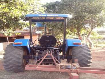 Trator new tl 75 - 10/10 - new holland