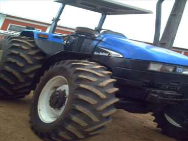 Trator new ts 100 - 20/05 - new holland