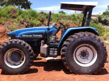 Tratores new holland tm 140 2004