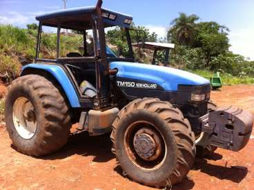 Tratores new holland tm 150 2001