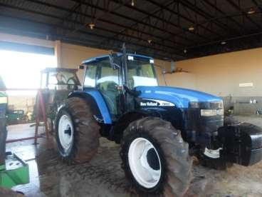Tratores new holland tm 165 2003